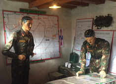 Inside: The command and control bunker of Kargil War