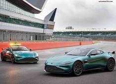 Formula 1's official safety car, Vantage, now on sale