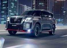 Nissan reveals the 2021 Patrol NISMO with a V8 engine