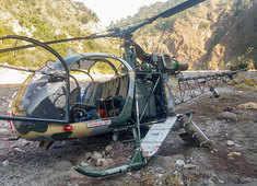J-K: Army chopper crashes near Reasi district, pilots safe
