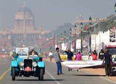 Rare vintage automobile beauties steal the show at car rally in Delhi