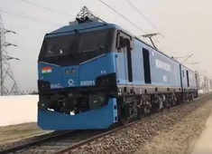 All you need to know about India's first high-speed electric locomotive
