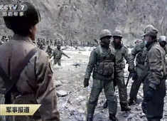 Galwan clash: China shares dramatic video of mountain clash with India troops