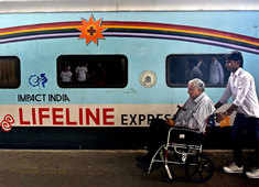 Lifeline Express: World's first hospital train in pictures