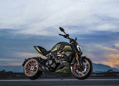 Lamborghini and Ducati come together to present the limited edition Diavel 1260