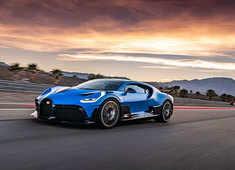 Bugatti Divo worth $6 million and iconic eight-litre W16 engine reaches US West Coast