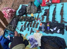 Terrorist hideout busted in Anantnag; arms & ammunition recovered