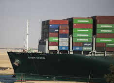Ship that got stuck in Suez may have been overspeeding