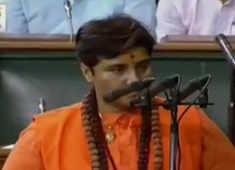 Ruckus during oath taking of Pragya Singh Thakur as she called herself 'Sadhvi'