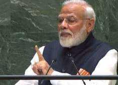 India has given the world not 'yudh' but 'Budh': PM Modi at UNGA on terrorism