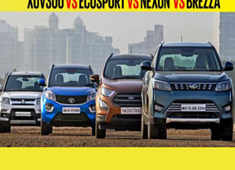 Auto car show: Ford Ecosport vs  Maruti Suzuki Vitara Brezza vs  Tata Nexon vs  Mahindra Xuv 300 Comparison review