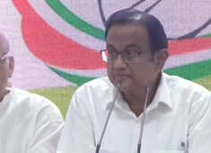 P Chidambaram turns up at Congress HQs, says not named accused in INX Media case