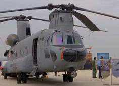Watch: Induction ceremony of Chinook helicopters at Air Force Station 12 wing in Chandigarh