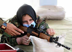 Military diplomacy: India trains Afghan women officers