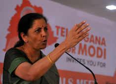 Union Minister Nirmala Sitharaman mounts an attack on TMC
