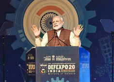 Defence Expo 2020: India shows off military might to the world