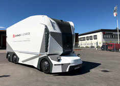 First driverless truck hits the road in Sweden