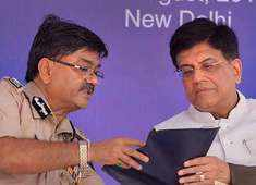 CORAS: Piyush Goyal inducts first batch of 'Commandos for Railway Security