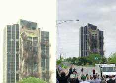 Watch: Defunct steelmaker's 21-story HQ imploded in Bethlehem