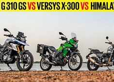 Autocar Show: BMW G 310 GS vs Kawasaki Versys-X 300 vs Royal Enfield Himalayan,  comparison review