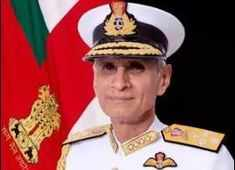 Admiral Karambir Singh takes over as the chief of the Naval staff