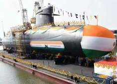 INS Vela: Indian Navy launches fourth Scorpene-class submarine Vela in Mumbai