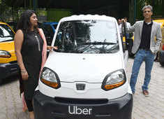 In India Uber set to cover air and land with flying taxis, quadricycles