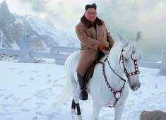 Kim Jong Un's horse ride on sacred mountain hints at 'great operation'