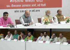 Watch: PM Modi's 'thanksgiving' meet with Union ministers, allies