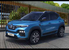 Renault unveils its upcoming compact SUV Kiger with a turbocharged 1.0L petrol engine