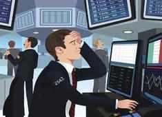 Sensex tanks over 1,700 pts amid global selloff, Nifty near 14,600; financial stocks worst hit