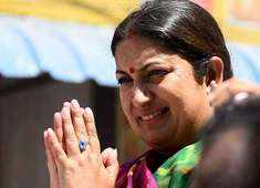 Amethi election results: Smriti Irani now leads over Rahul Gandhi by 25,000 votes