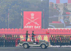 In a first, Drones of the Indian Army carry out mock kamikaze attacks on Army Day 2021