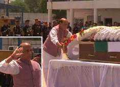 Anantnag encounter: Rajnath Singh pays tribute to slain soldier Major Ketan Sharma