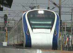 Vande Bharat Express successfully completes its second trial run from Delhi to Kanpur