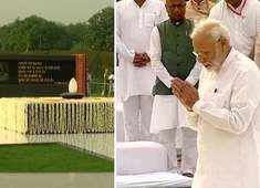 PM Modi, President Kovind, Amit Shah pay tribute to AB Vajpayee on his 1st death anniversary