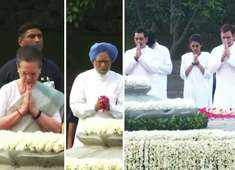 Congress leaders pay tribute to fmr PM Rajiv Gandhi on his birth anniversary