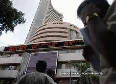 Sensex rises 100 points, Nifty nears 11,700 ahead of D-Day; DHFL tanks 17%