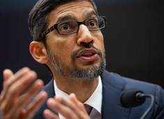 No plans for Chinese search engine right now, says Sundar Pichai, Google CEO