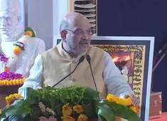 Amit Shah in Varanasi: Veer Savarkar was first person to call 1857 rebellion as India's first independence struggle