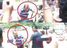 Watch: Tej Pratap Yadav's personal security guards beat up journalist
