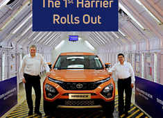 First Tata Harrier SUV rolled out from Pune plant