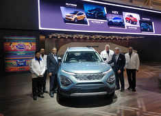 Tata Motors unveils four cars at Geneva Motor show