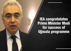Watch: IEA congratulates PM Modi for Ujjwala success