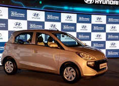Hyundai Santro makes comeback in India