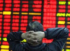 Monday Mayhem: Sensex tanks 2,600 points, Nifty slips below 8,000