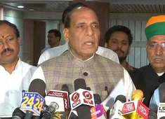 PM to set up panel to look into simultaneous polls: Rajnath Singh after all-party meet