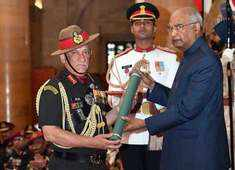 Gallantry Awards 2019: President Kovind honours armed forces personnel