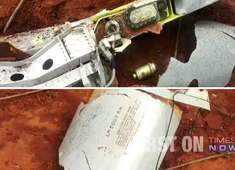 Fuel tank of IAF jet falls in a field near Sulur air base in Tamil Nadu