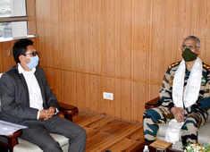 LAC Galwan standoff: Army Chief Gen MM Naravane meets Ladakh MP Jamyang Tsering Namgyal